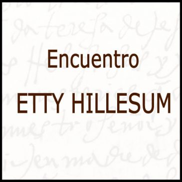Congreso Etty Hillesum